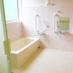 ベルエスパス柏たなかの浴室内の写真